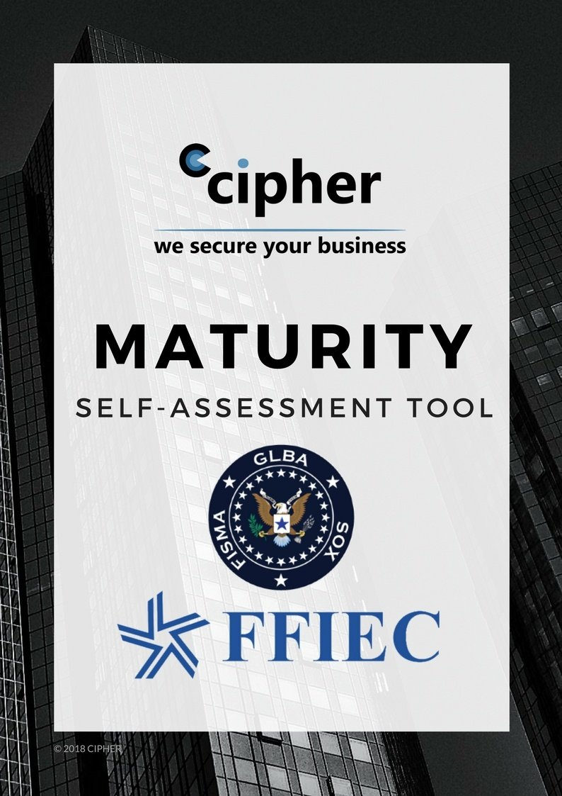 FFIEC GLBA Security Maturity Assessment
