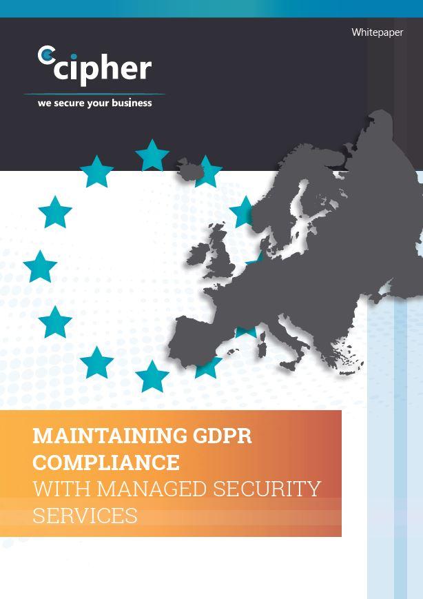 Managed GDPR Services Whitepaper